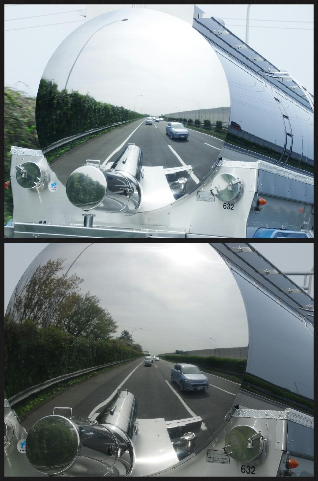 アウトランダーPHEV 高速道路走行写真
