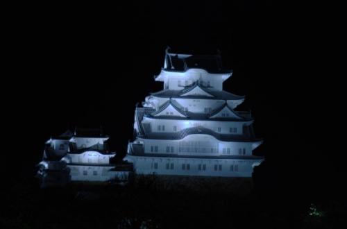hi.姫路城ライトアップ 20150420 001