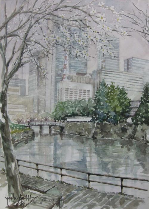 竹橋からお堀・丸の内方面B3