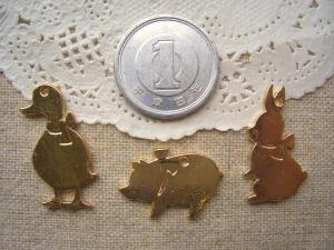 アヒル、子ブタ、ウサギPG