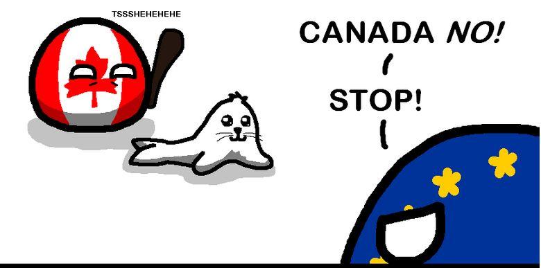 カナダはそんなの気にしない (1)
