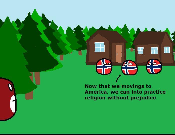 ノルウェーのアメリカ入植 (1)