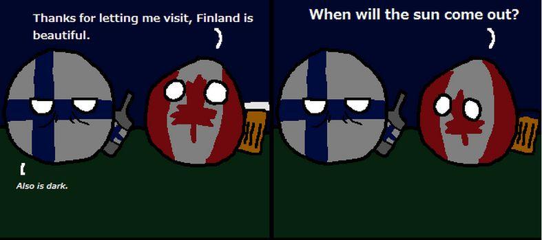 フィンランドは暗い (1)