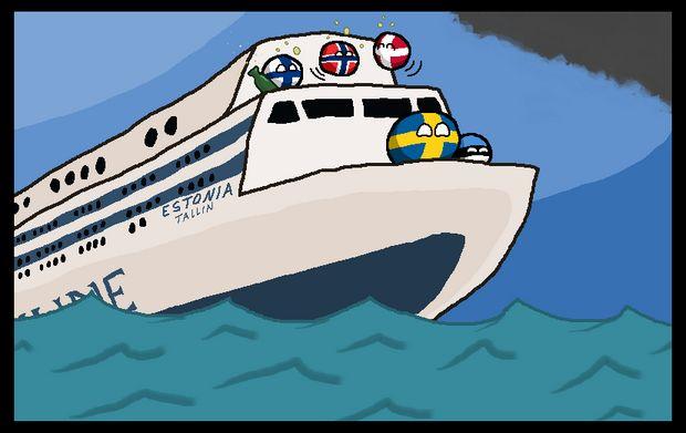 エストニア号 (2)