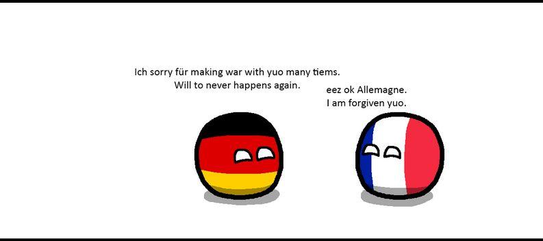 ヨーロッパとの仲直り (1)