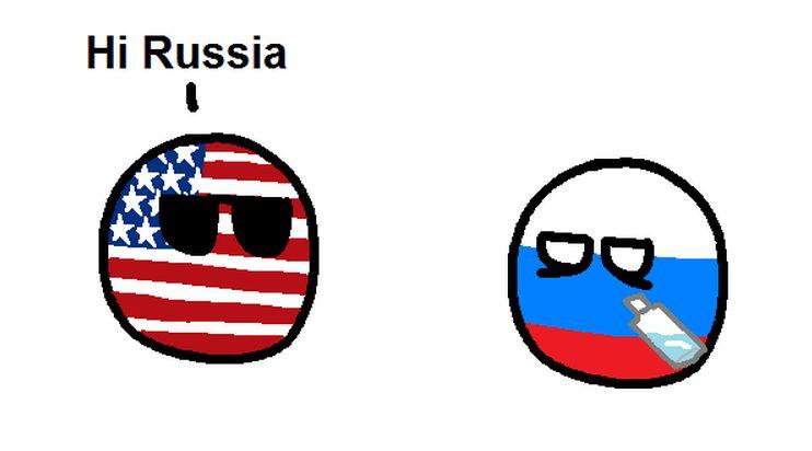 スラブ国についてのコミック (1)