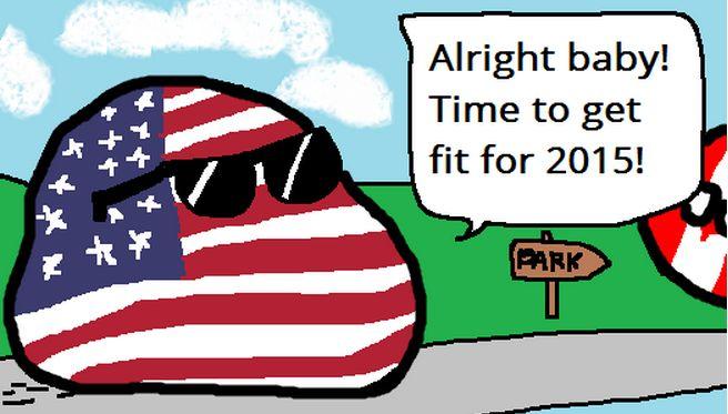 アメリカの新年の抱負 (1)