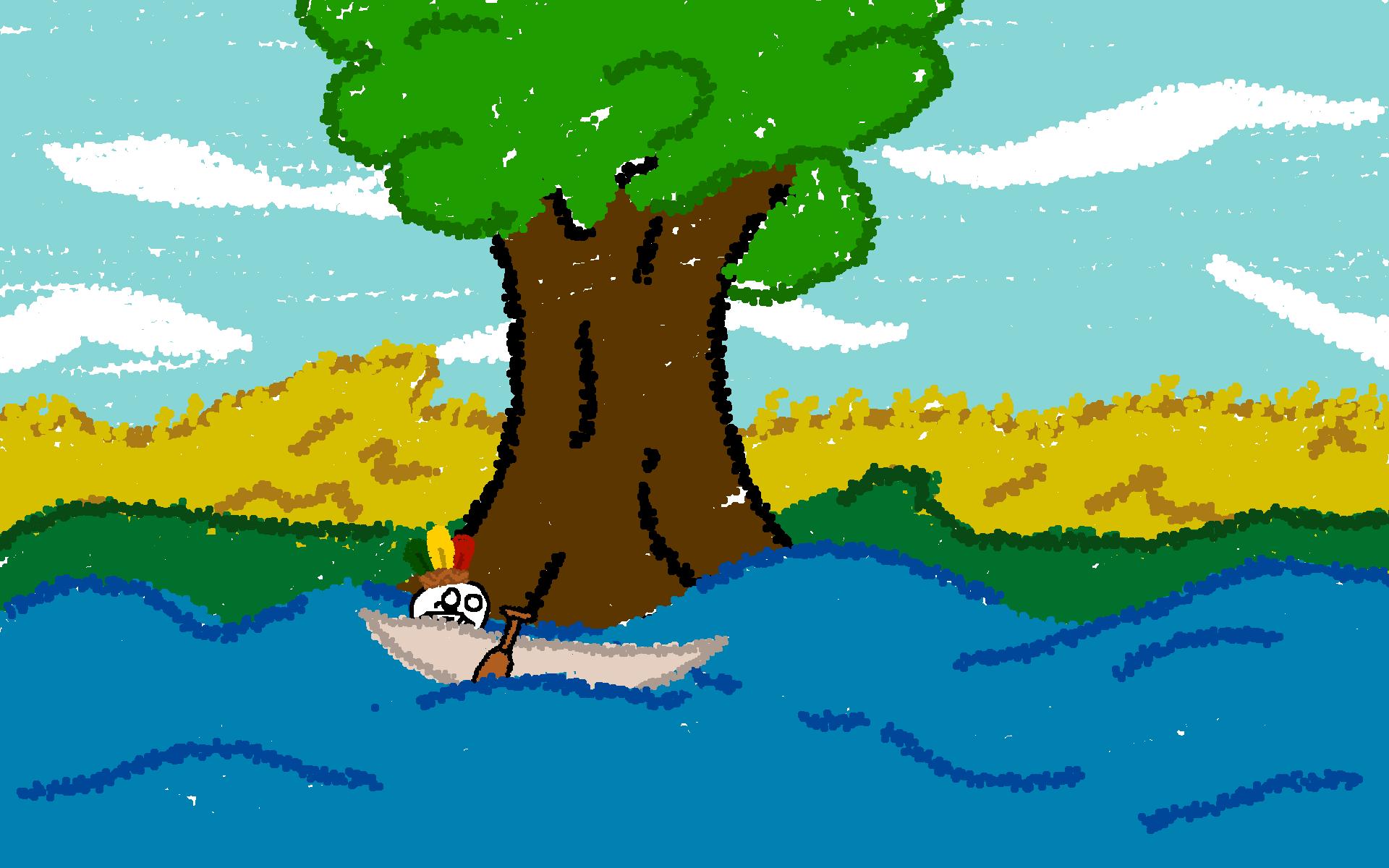 湖上の街 (1)