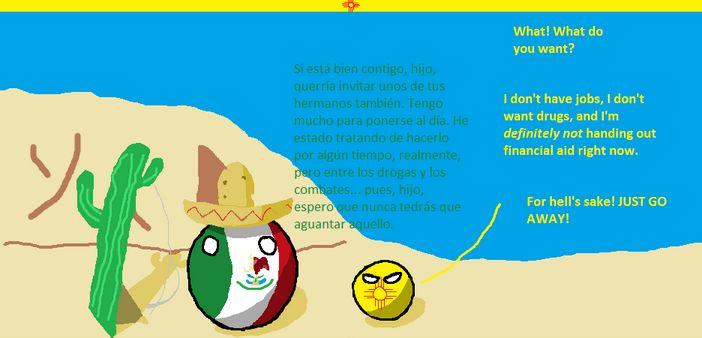 ニューメキシコ国境の偽り (4)