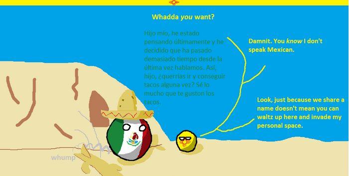 ニューメキシコ国境の偽り (3)