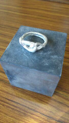 銀細工指輪④