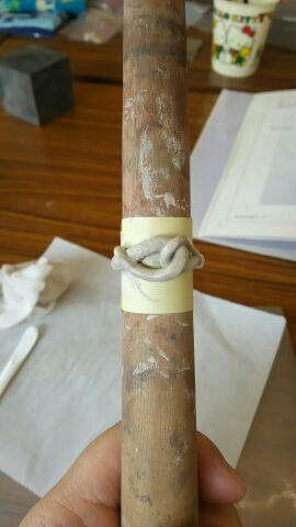 銀細工指輪②