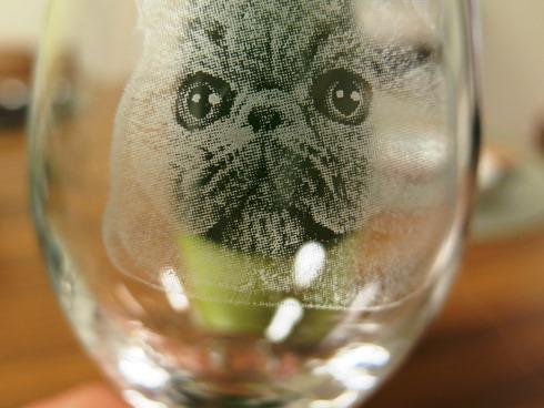 3)マルタくんグラスです♡