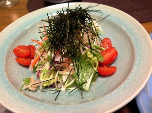 7)ホタテの和風サラダ