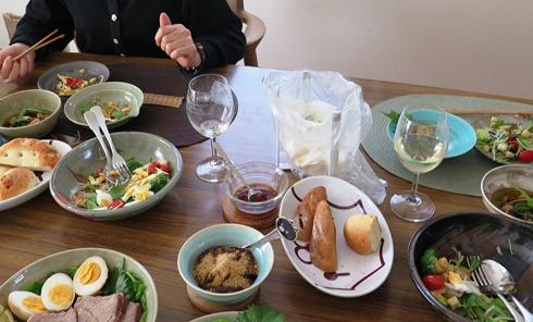 6)昼間っからいい飲みっぷり(笑)