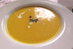 5)かぼちゃのスープ