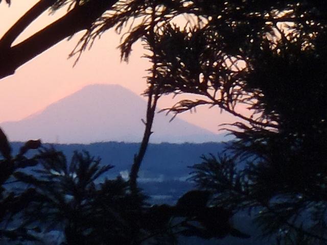 雷神社からの富士山