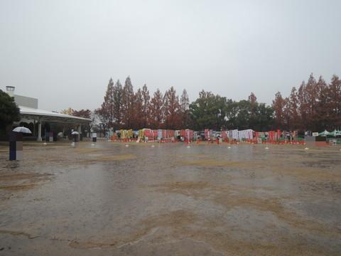 関西ラーメンダービー2014会場(京都競馬場 緑の広場)
