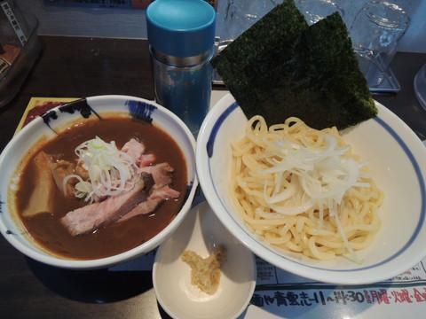 特製つけ麺サンマ(1130円)
