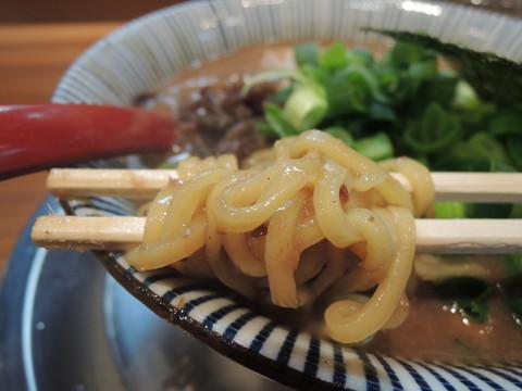とんこつラーメンの麺
