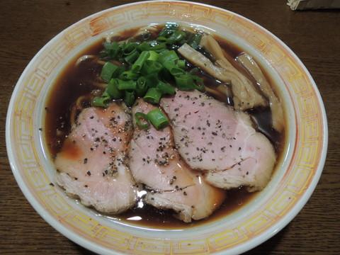 中華そば(太麺)(600円)