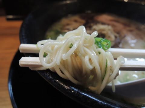タマユラーメンの麺