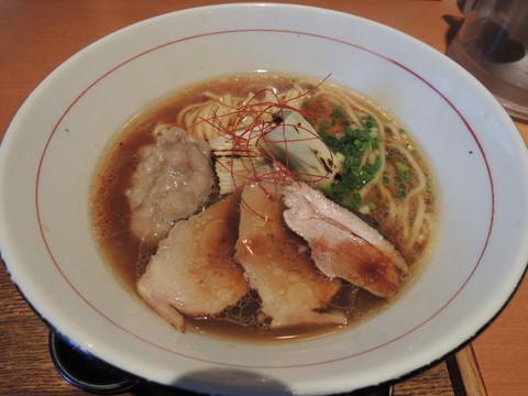 鴨と蛤の熟成醤油(880円)