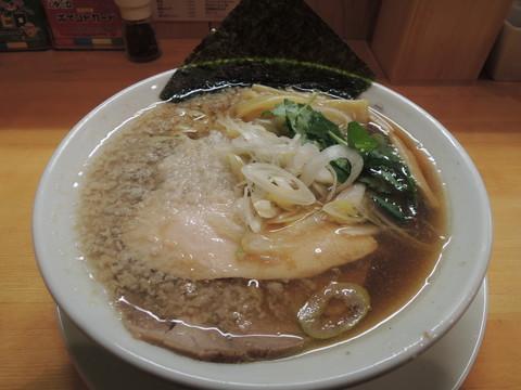ワハハ煮干そば(750円)