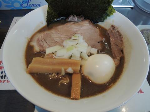 草庵塩らぁ麺(980円)