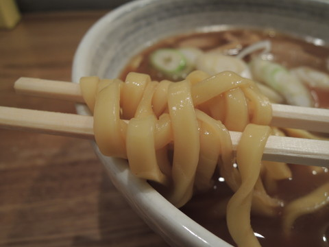 らーめん(平打麺)の麺