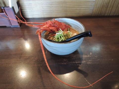 海老味噌ラーメン(900円)