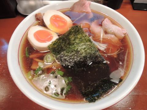 中華そば(650円)+らぁ祭2015寄り道特典の煮玉子