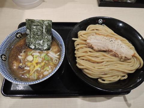 濃厚豚骨魚介つけ麺大(980円)