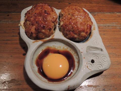 つくね「卵黄」(540円)