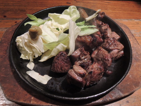 大山鶏もも炙り(756円)