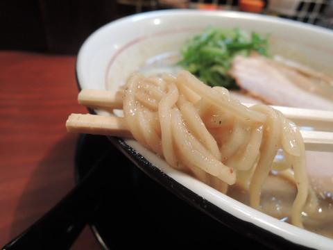 鶏豚骨の麺