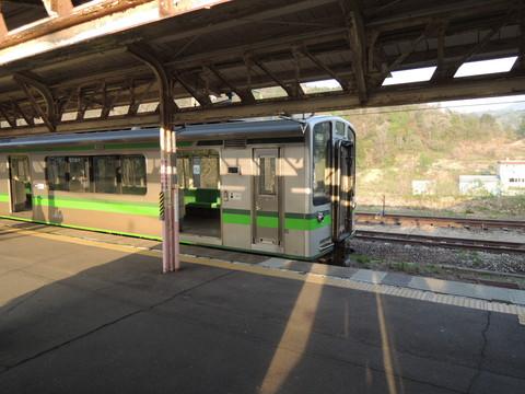 えちごトキめき鉄道妙高高原行普通2366M列車(ET127系)