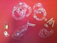 プラスチック製貞操帯クリア(CB-3000)