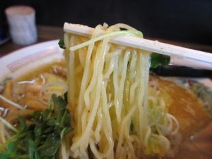 あんまる 味噌ラーメン 麺