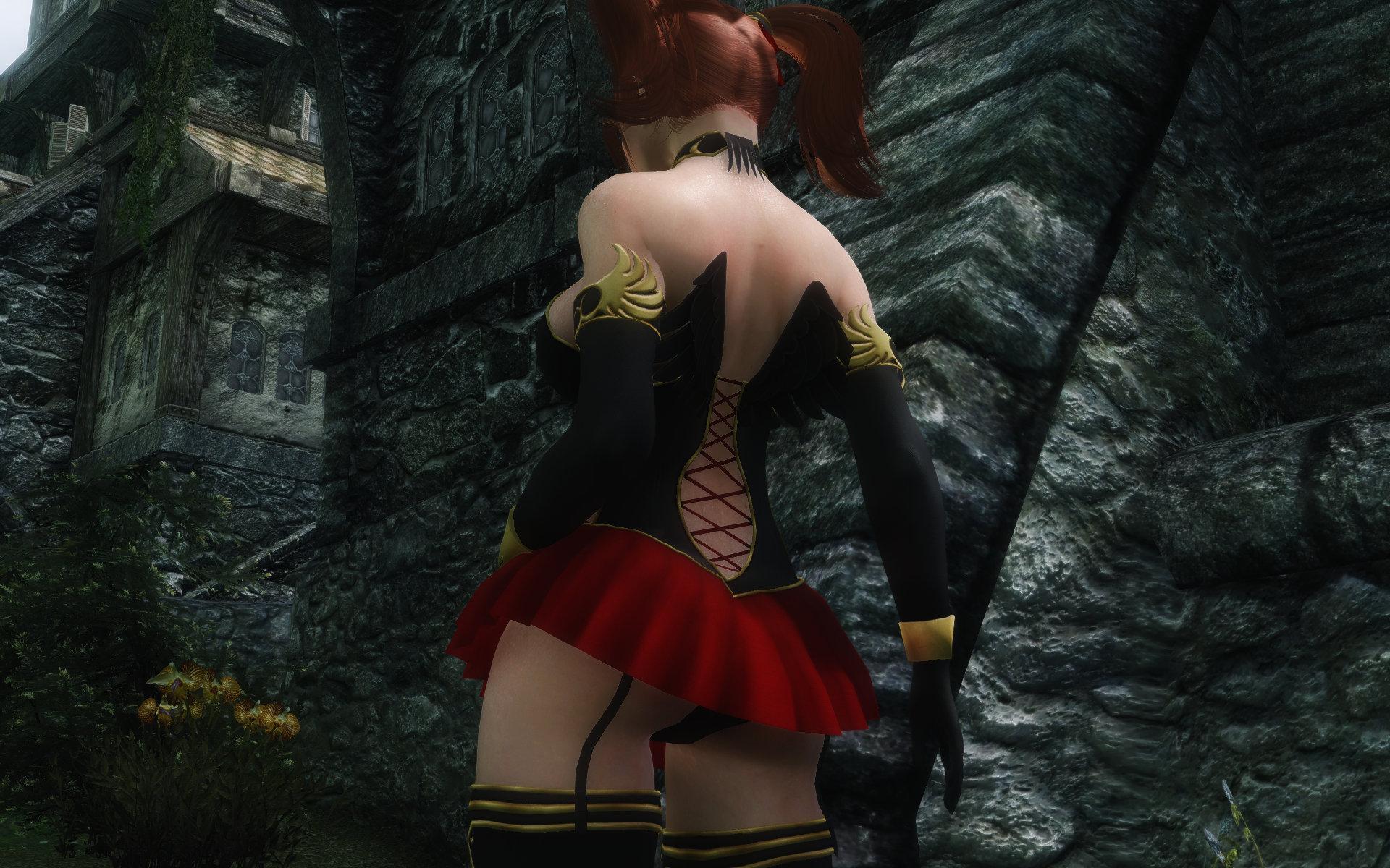 DragonQuest8 Divine Bustiers Dark Edition