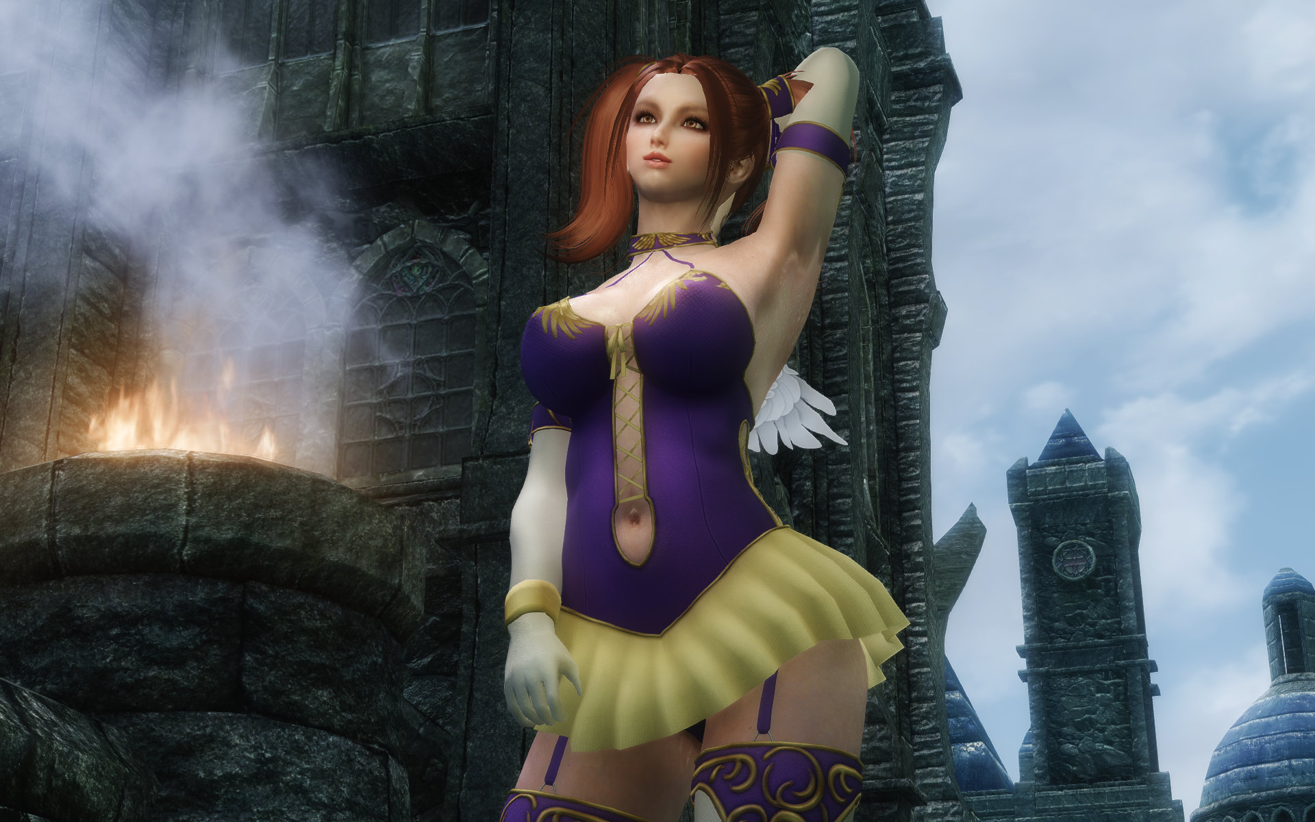 DragonQuest8 Divine Bustiers