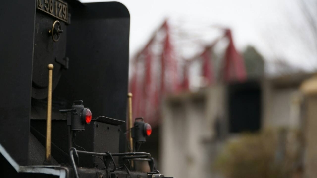 C56 129ととある鉄橋