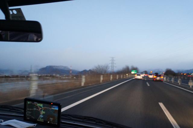 赤城高原SA付近より、上越国境を見る