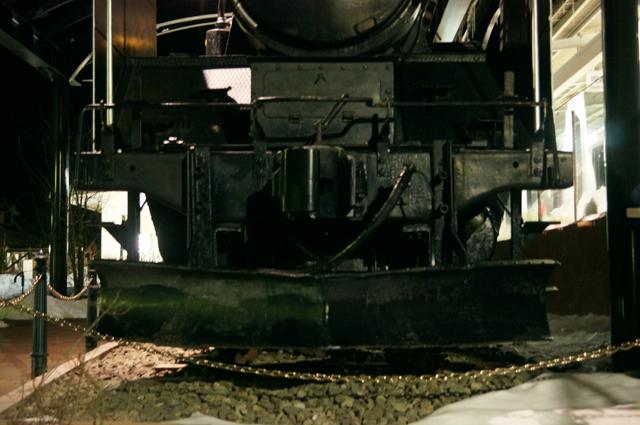 多分C56 129についていたスノープローに近い形状のスノープロー 正面より