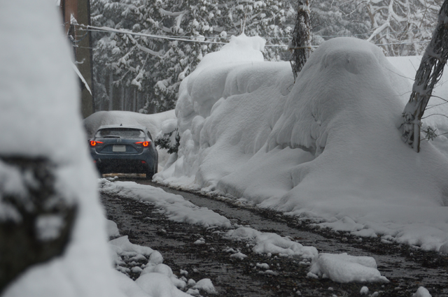 十日町は約3mの大雪