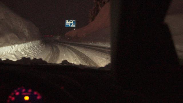 マツダRX-8で雪の中を超楽しくドライブ