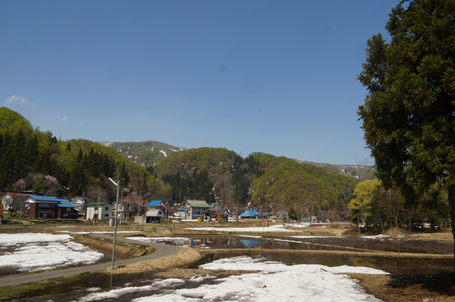 日本の原風景を走る飯山線
