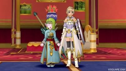 姫と2ショット
