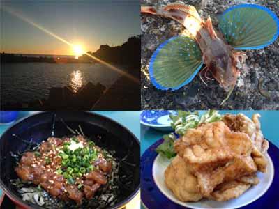 鴨川グルメ&釣り