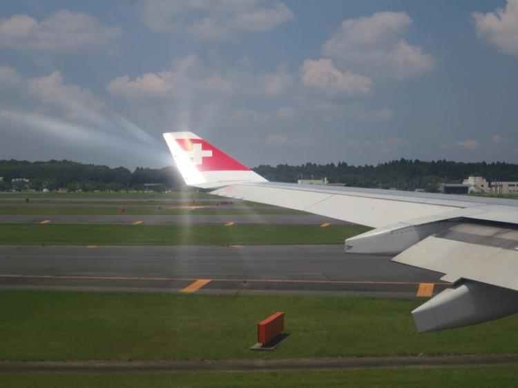 スイス航空LX161